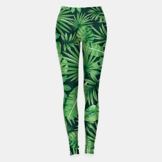Capital Letter E Alphabet Monogram Initial Flower Gardener Leggings thumbnail image