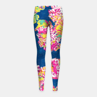 The soul becomes dyed with the color of its thoughts Girl's leggings thumbnail image