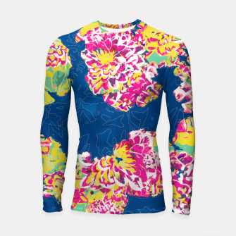 The soul becomes dyed with the color of its thoughts Longsleeve rashguard  thumbnail image