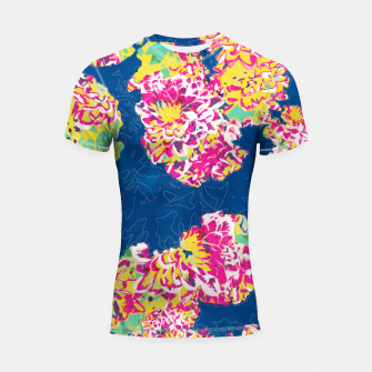 The soul becomes dyed with the color of its thoughts Shortsleeve rashguard thumbnail image