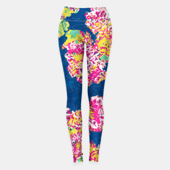 The soul becomes dyed with the color of its thoughts Leggings thumbnail image