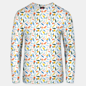 The object of art is to give life a shape. Unisex sweater thumbnail image