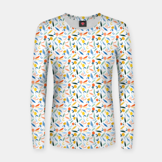 Thumbnail image of The object of art is to give life a shape. Women sweater, Live Heroes