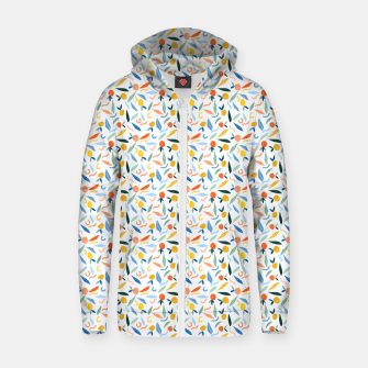 Thumbnail image of The object of art is to give life a shape. Zip up hoodie, Live Heroes