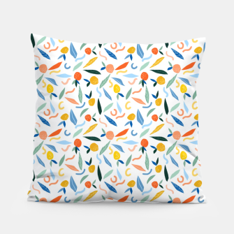 Thumbnail image of The object of art is to give life a shape. Pillow, Live Heroes