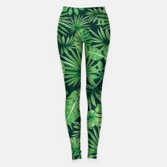 Capital Letter J Alphabet Monogram Initial Flower Gardener Leggings thumbnail image