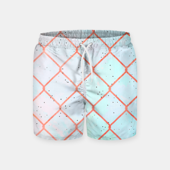 Cages aren't made of iron, they're made of thoughts  Swim Shorts thumbnail image