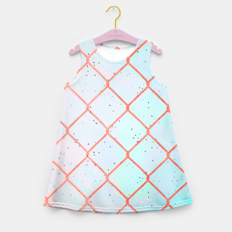 Cages aren't made of iron, they're made of thoughts  Girl's summer dress thumbnail image