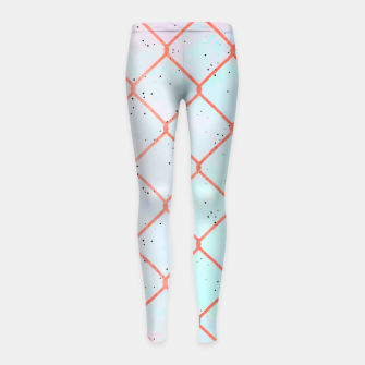 Cages aren't made of iron, they're made of thoughts  Girl's leggings thumbnail image