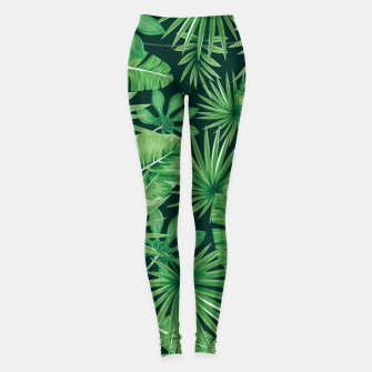 Capital Letter L Alphabet Monogram Initial Flower Gardener Leggings thumbnail image