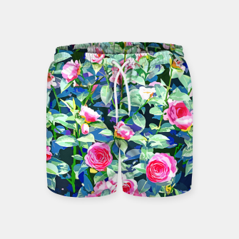 You rose alone through winter's coldest storm but look how full you've grown Swim Shorts thumbnail image