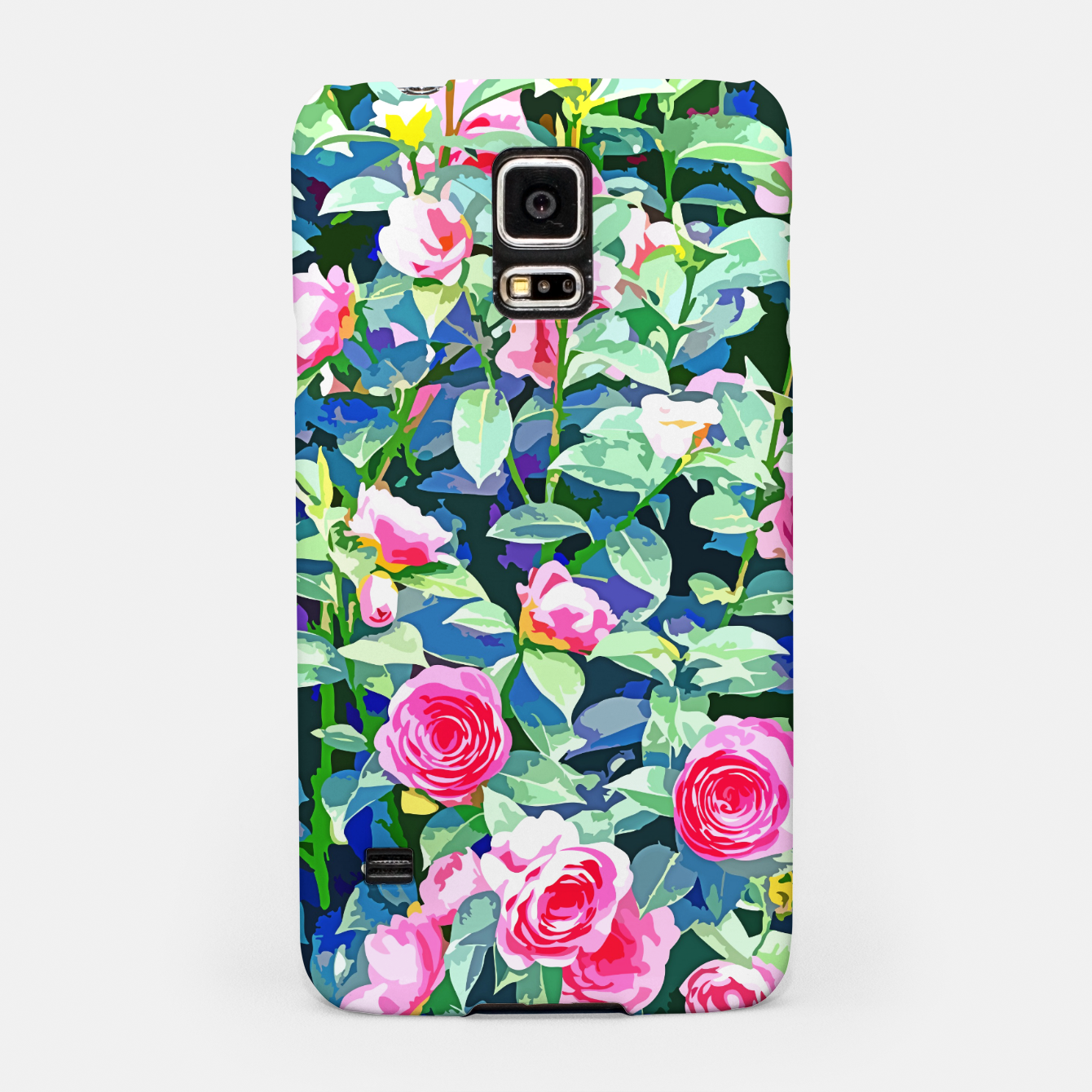 Image of You rose alone through winter's coldest storm but look how full you've grown Samsung Case - Live Heroes