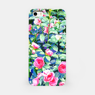 You rose alone through winter's coldest storm but look how full you've grown iPhone Case thumbnail image