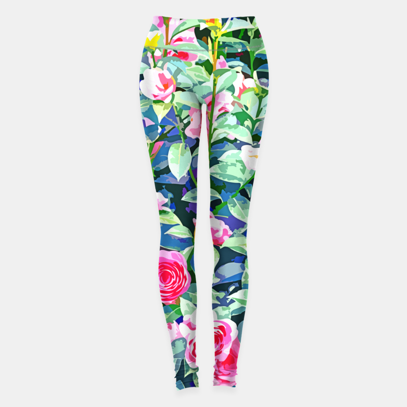 Foto You rose alone through winter's coldest storm but look how full you've grown Leggings - Live Heroes