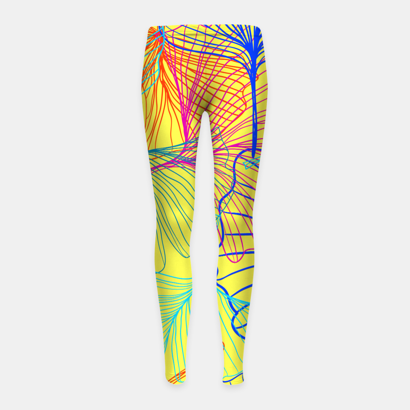 Image of I am the wind. One day I will fly free.  Girl's leggings - Live Heroes