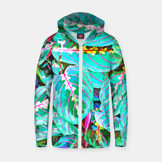 Thumbnail image of Let's find a beautiful place to get lost  Zip up hoodie, Live Heroes