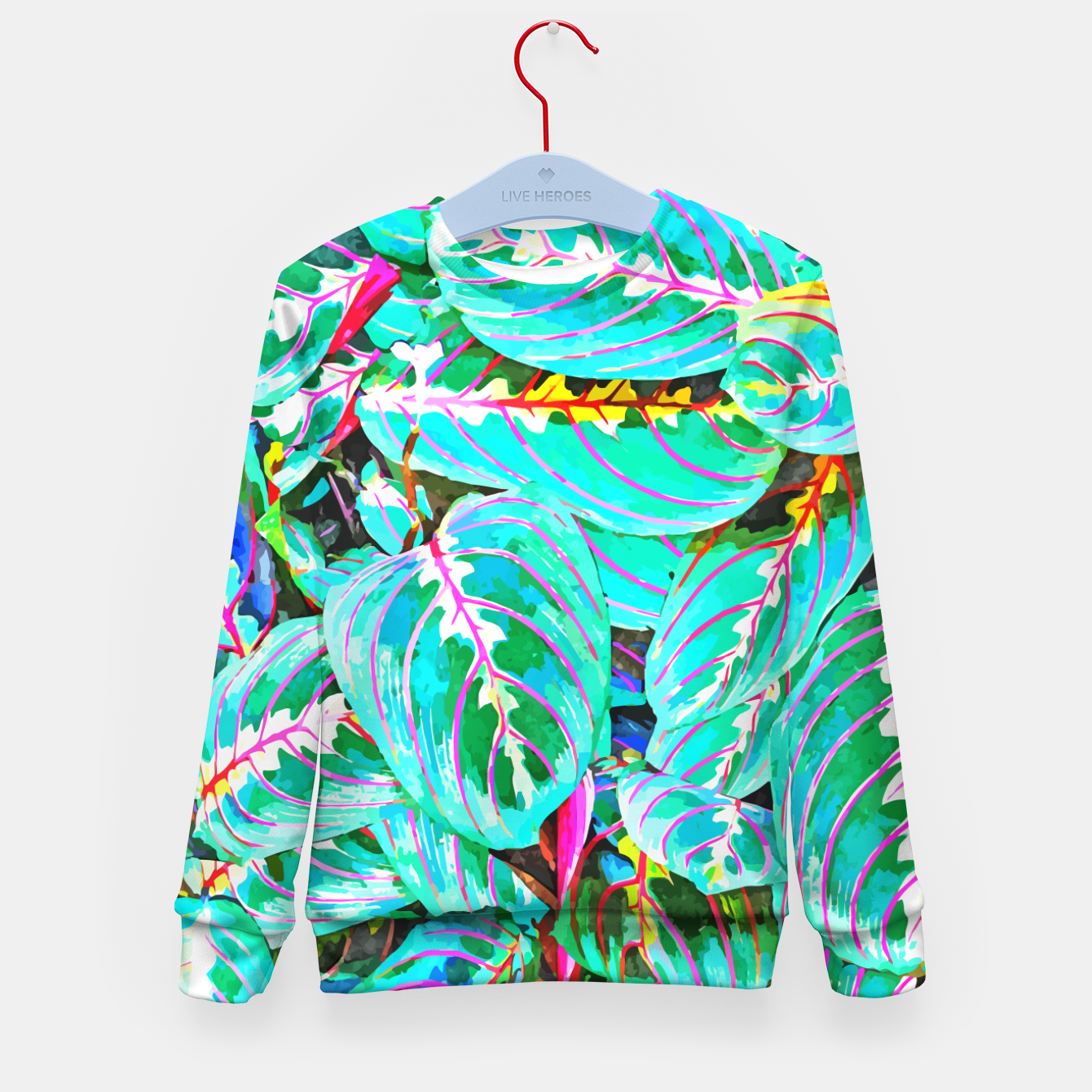 Image of Let's find a beautiful place to get lost  Kid's sweater - Live Heroes