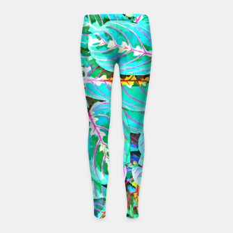 Thumbnail image of Let's find a beautiful place to get lost  Girl's leggings, Live Heroes