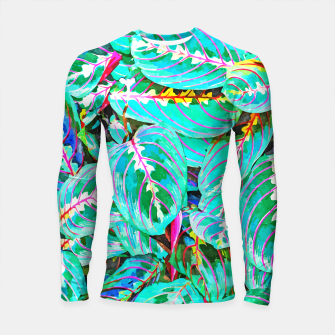 Thumbnail image of Let's find a beautiful place to get lost  Longsleeve rashguard , Live Heroes