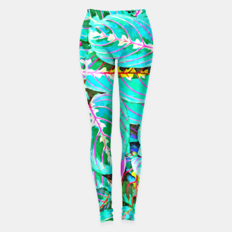 Thumbnail image of Let's find a beautiful place to get lost  Leggings, Live Heroes