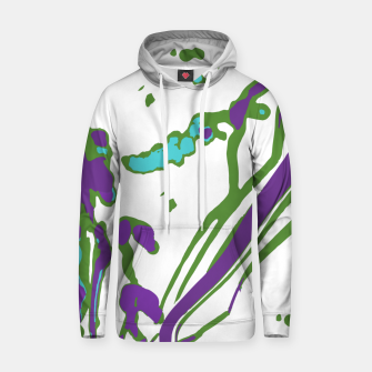 Thumbnail image of Multicolored Abstract Print Hoodie, Live Heroes