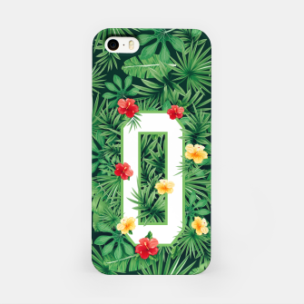 Capital Letter O Alphabet Monogram Initial Flower Gardener iPhone Case thumbnail image