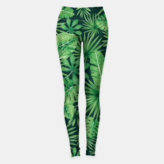 Capital Letter O Alphabet Monogram Initial Flower Gardener Leggings thumbnail image