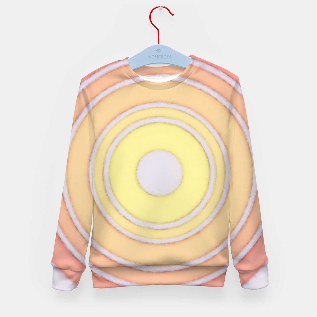 Image of Approaching sun Kid's sweater - Live Heroes