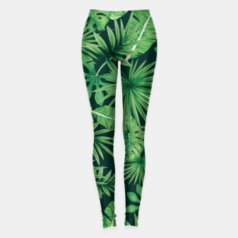 Capital Letter P Alphabet Monogram Initial Flower Gardener Leggings thumbnail image