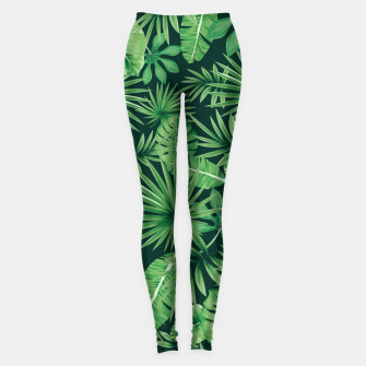 Capital Letter U Alphabet Monogram Initial Flower Gardener Leggings thumbnail image