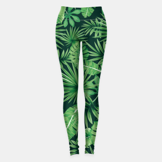 Capital Letter T Alphabet Monogram Initial Flower Gardener Leggings thumbnail image