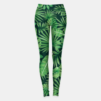 Thumbnail image of Capital Letter V Alphabet Monogram Initial Flower Gardener Leggings, Live Heroes