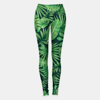 Thumbnail image of Capital Letter X Alphabet Monogram Initial Flower Gardener Leggings, Live Heroes