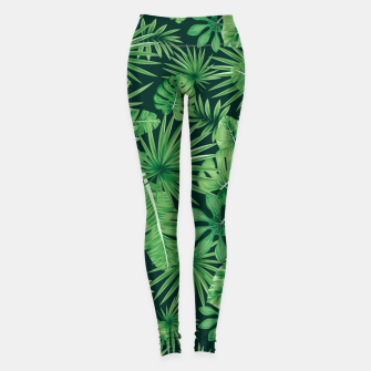 Thumbnail image of Capital Letter Y Alphabet Monogram Initial Flower Gardener Leggings, Live Heroes