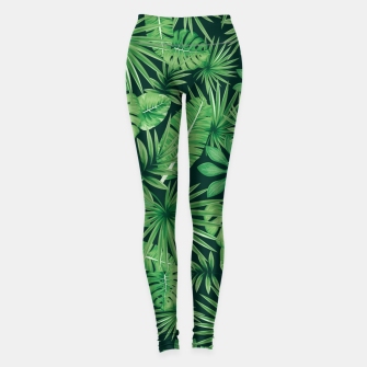 Thumbnail image of Capital Letter Z Alphabet Monogram Initial Flower Gardener Leggings, Live Heroes