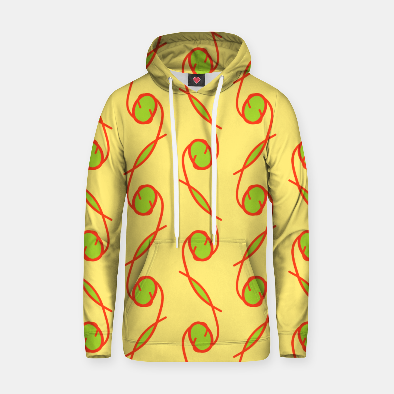 Image of Kale 63 Green Sudadera con capucha - Live Heroes