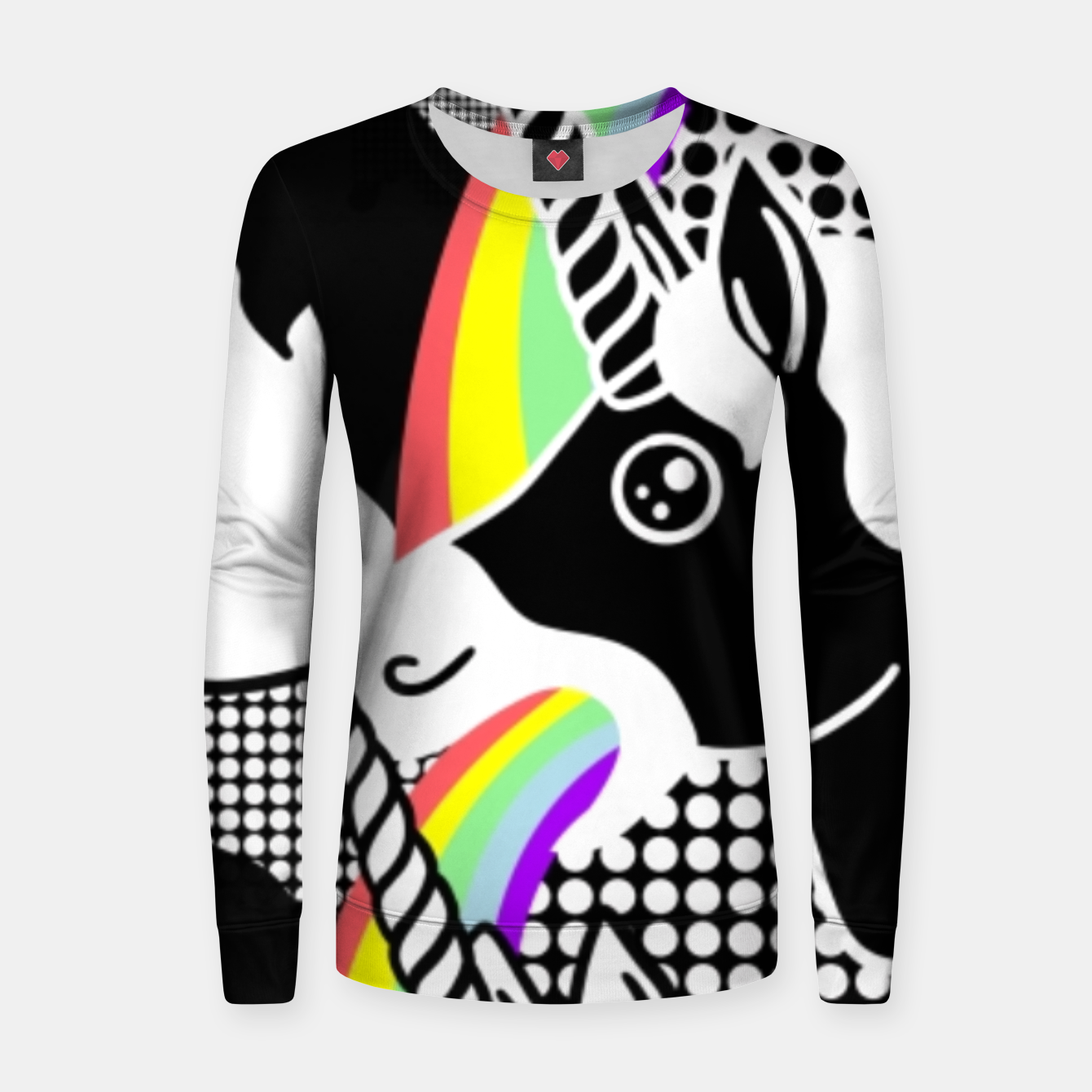 Image of Puking Rainbow - Women sweater - Live Heroes