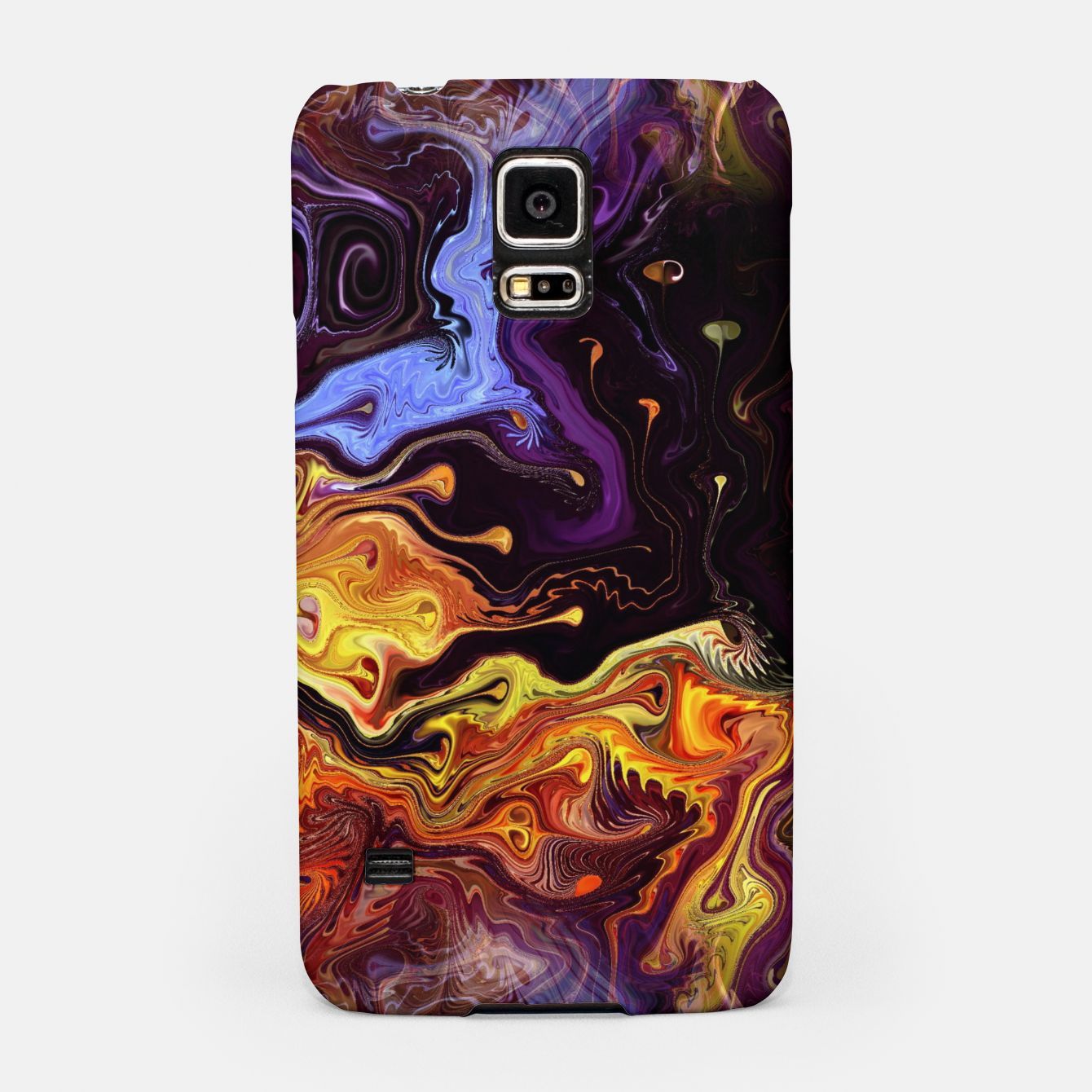 Image of Starry Night Skies Nebula Space Theme Samsung Case - Live Heroes