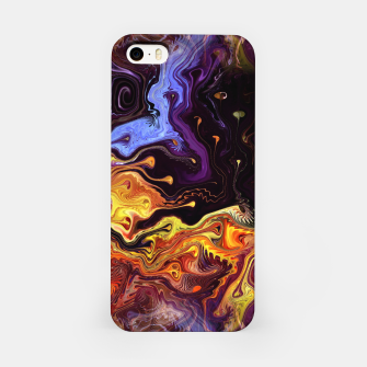 Starry Night Skies Nebula Space Theme iPhone Case thumbnail image