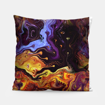 Starry Night Skies Nebula Space Theme Pillow thumbnail image