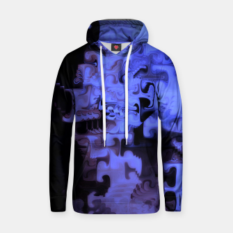 Thumbnail image of Deep Sea Coastal Blues Waveflow Pattern Hoodie, Live Heroes