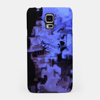 Miniaturka Deep Sea Coastal Blues Waveflow Pattern Samsung Case, Live Heroes