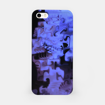 Miniaturka Deep Sea Coastal Blues Waveflow Pattern iPhone Case, Live Heroes
