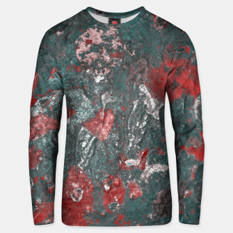 Thumbnail image of Multicolored Abstract Print Unisex sweater, Live Heroes