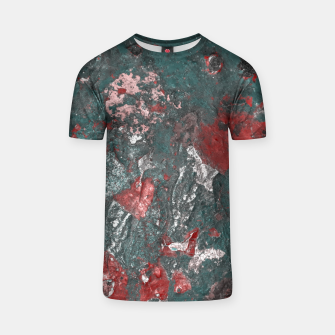 Thumbnail image of Multicolored Abstract Print T-shirt, Live Heroes