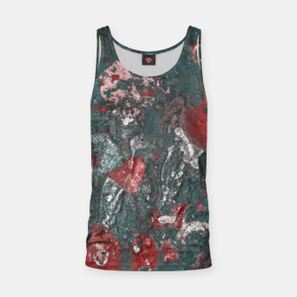 Miniature de image de Multicolored Abstract Print Tank Top, Live Heroes