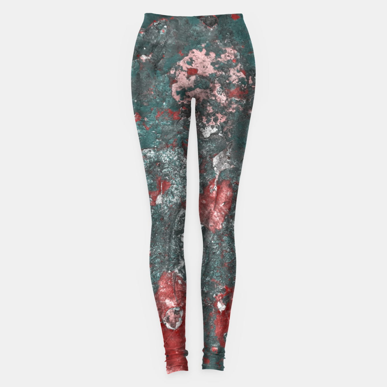Image of Multicolored Abstract Print Leggings - Live Heroes