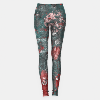 Thumbnail image of Multicolored Abstract Print Leggings, Live Heroes