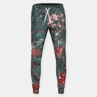 Thumbnail image of Multicolored Abstract Print Sweatpants, Live Heroes