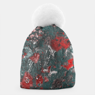 Thumbnail image of Multicolored Abstract Print Beanie, Live Heroes